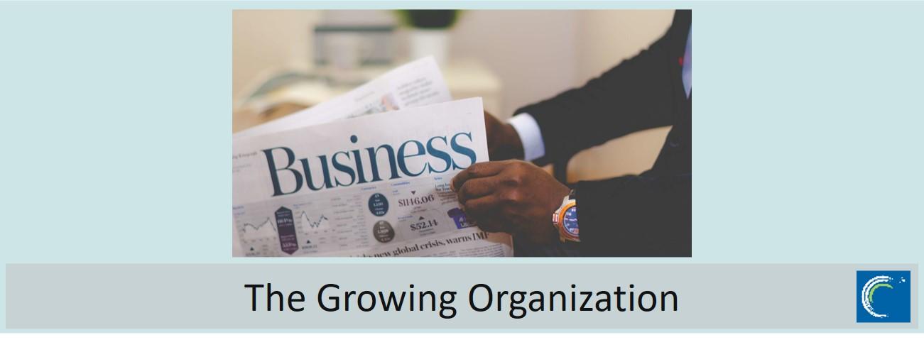 The growing organization